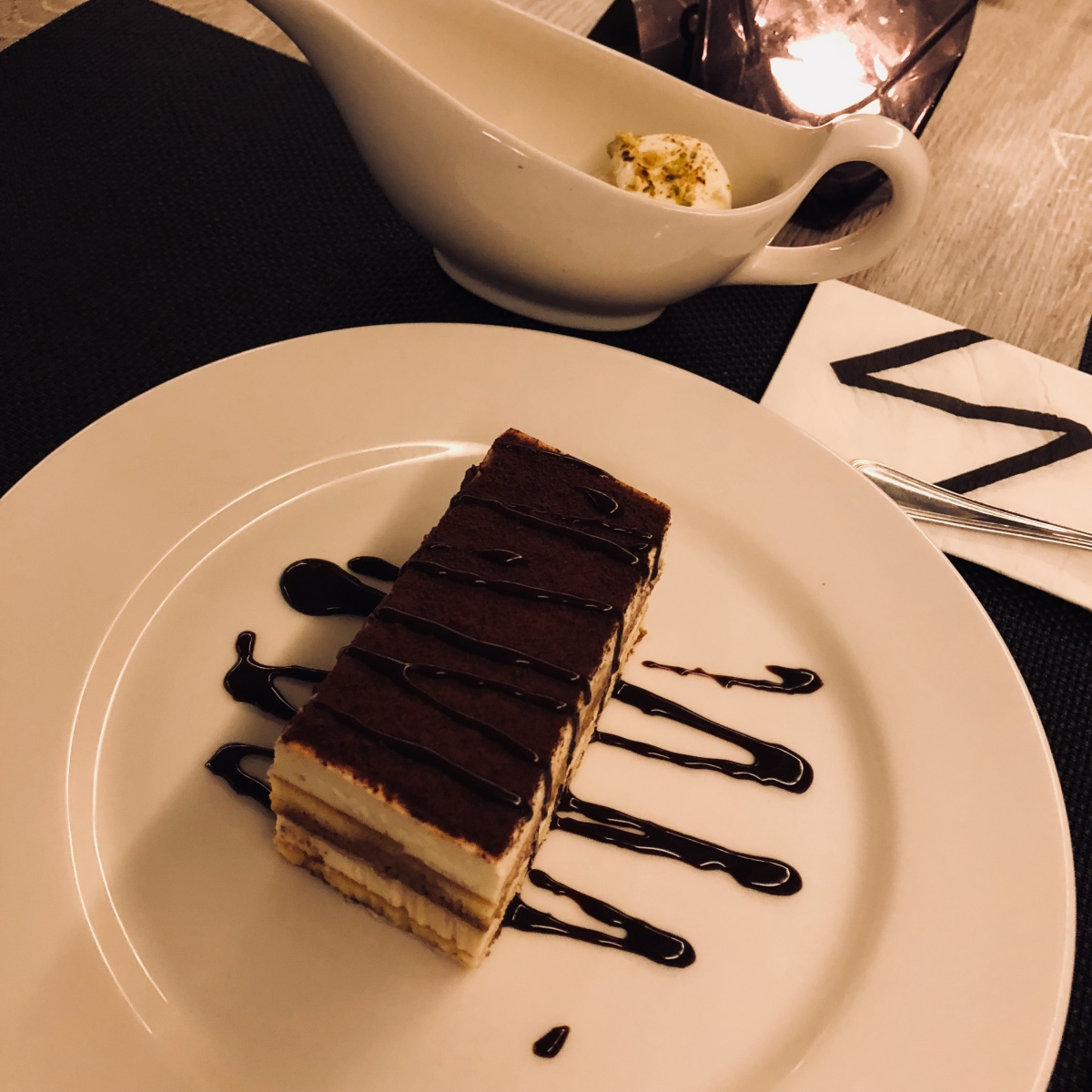 Noir Tiramisu, Ice Cream