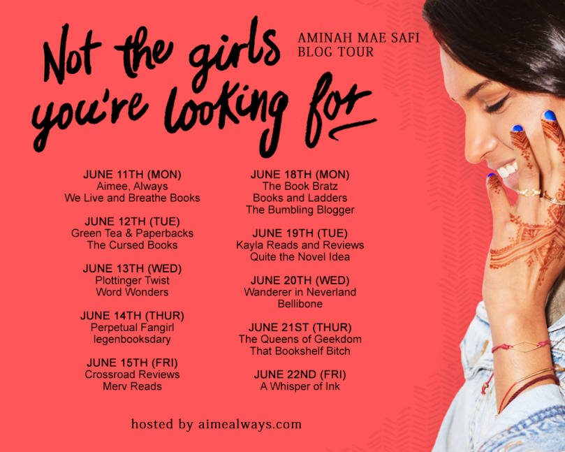 Not the Girls You're Looking For Blog Tour Schedule
